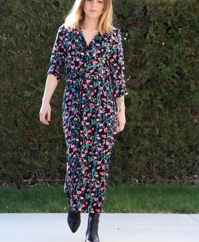 robe printemps 2021 fleures JDY