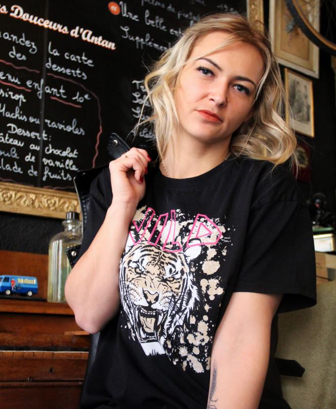 T-shirt Wild W