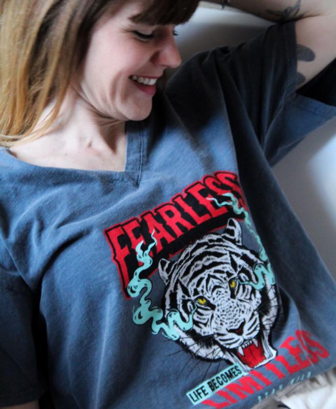T-shirt Féline